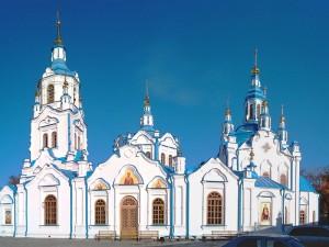 Знаменский кафедральный собор города Тюмени